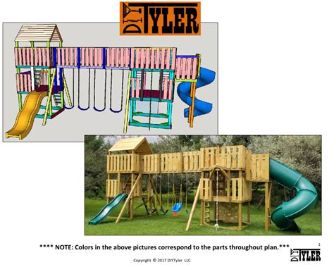 Diytyler Swing Set Plans